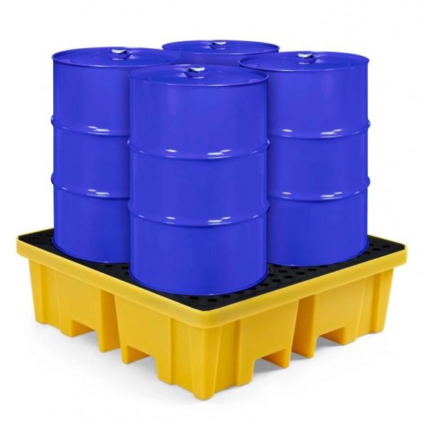 PE-Auffangwanne RPW-4 für 4 x 200 Liter Fässer
