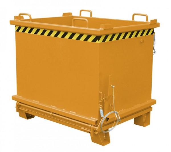 Schüttbehälter Typ SB 1500 - Gelborange RAL 2000