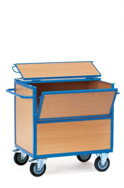 Fetra Holzkastenwagen mit Deckel Typ 2853