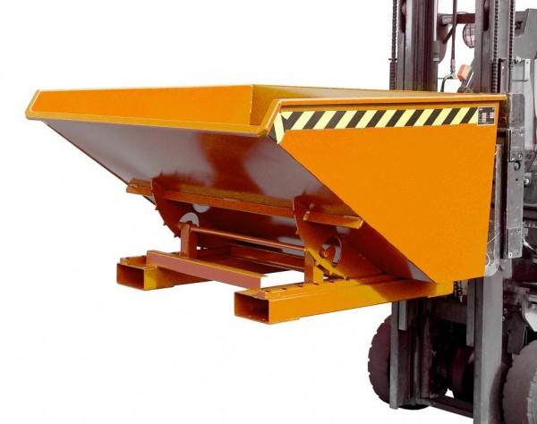 Kippbehälter Typ EXPO 900 - Gelborange RAL 2000