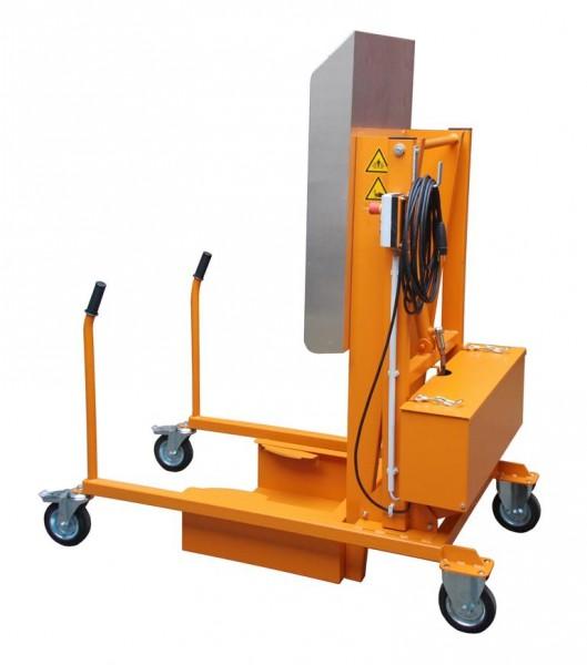 Mülltonnen-Kippstation Typ MKS-230V - gelborange RAL 2000