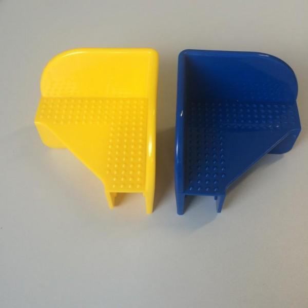 Stapelecken aus PE in gleb oder blau