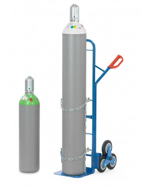 Fetra Stahlflaschen-Treppenkarre für Gasflaschen Ø 204-318 mm