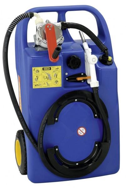 Cemo AdBlue®-Trolley 60 Liter mit Kurbelpumpe