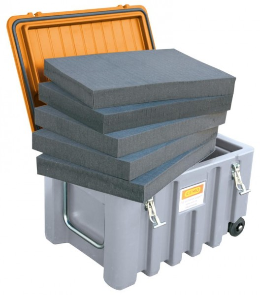 PUR-Würfelschaum Schaumstoffeinlage für CEMbox