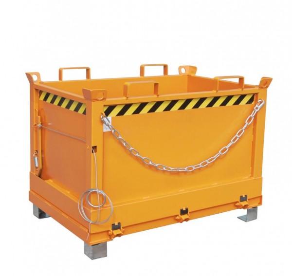 Klappbodenbehälter Typ FB 500 - Gelborange RAL 2000
