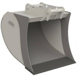 Tieflöffel für Bagger MS-08 Typ Volumen ohne Zähne - SB 1000 mm KL07 (6,0 - 8,0 t) / Baggerlöffel