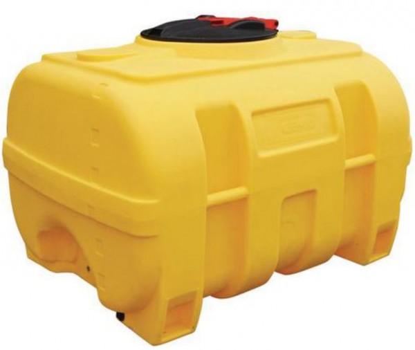 CEMO PE-Fass kofferförmig 600 Liter