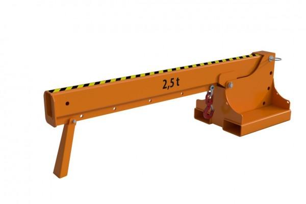 Kranarm Typ KTH-K-2,5 (Kurzvariante) für Gabelstapler