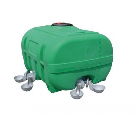 PE-Weidefass - kofferförmig (Abbildung ähnlich)