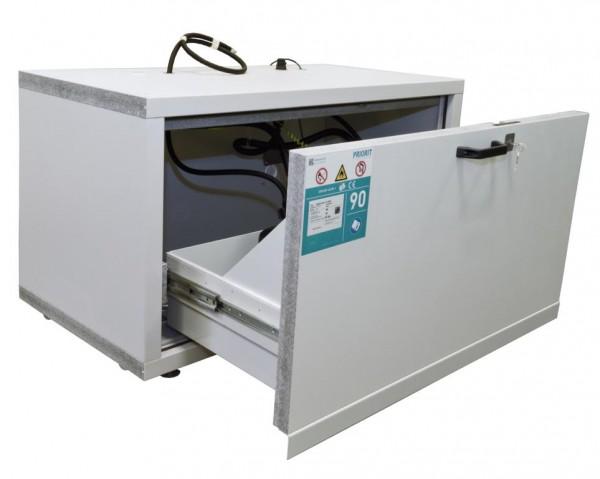 Sicherheitsschrank / Untertisch-Auszugsschrank PRIOCAB Typ F90-1